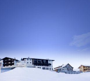 Außenansicht Hotel Goldener Berg