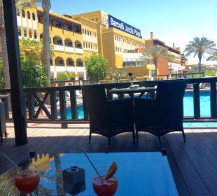 Terrasse im Premiumbereich Hotel Barceló Jandia Club Premium