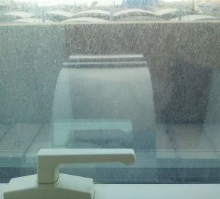 Blick aus dem Zimmer Hotel Grand Millennium Al Wahda Abu Dhabi
