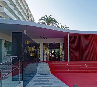 Hotel Eingang Ushuaia Ibiza Beach Hotel - The Tower / The Club