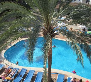 Blick vom Balkon Hotel Ola Club Cecilia