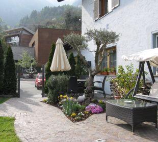 Auf einen Eiskaffee am Nachmittag Hotel Alpenhof Passeiertal