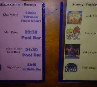 Programm Dana Beach Resort