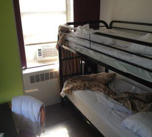 Unser kleines Zimmer Hotel Harlem YMCA