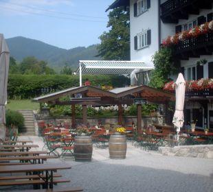 Der Biergarten Hotel Bellevue