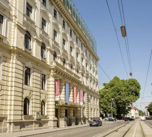 Aussenansicht Austria Trend Hotel Savoyen Vienna