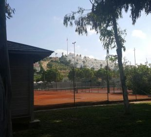 Tennisplätze Hotel Club Kastalia
