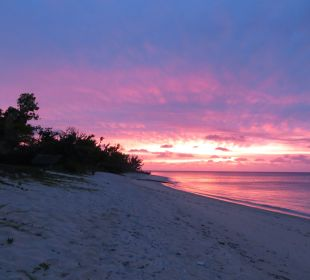 Sonnenuntergang am Sandy Beach Sandy Beach Resort Tonga