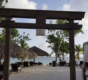 Eingang zum Strand Preferred Club Adults Only Dreams La Romana Resort & Spa
