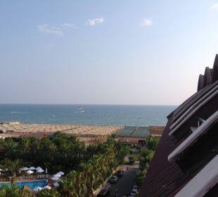 Blick aus dem Zimmer  Hotel Seamelia Beach Resort