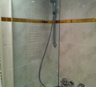 Badewanne mit Duschgelegenheit