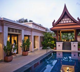 Two Bedroom Deluxe Pool Villa - Gartenanlage Hotel Banyan Tree Phuket