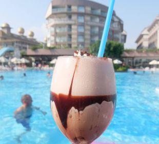 Vitamin Bar bietet Shakes gegen Entgelt € 2,50 Hotel Seamelia Beach Resort