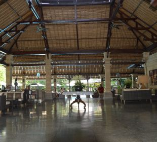 Lobby mit Restaurant Hotel Bali Agung Village