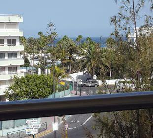 Ausblick vom Balkon 4. Stock IFA Catarina Hotel