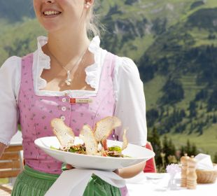 Service Terrasse Hotel Goldener Berg