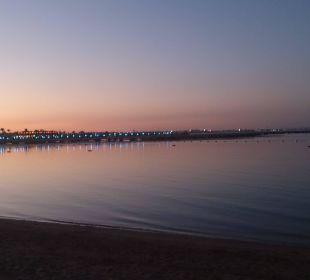 Strand abends Dana Beach Resort