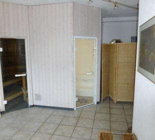 Sauna und Dampfbad Gasthof Romantik Krone