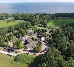Aus der Luft Hotel Forsthaus Damerow