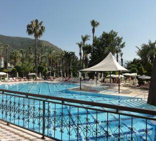 Sonnengeschützter Kinderpool Hotel Aqua