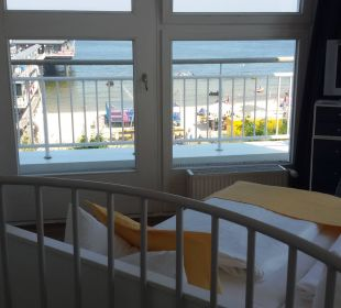 Ychlafzimmer im Turm Ferienwohnungen Kaiservillen - Ferienwohnungen Seebrücke