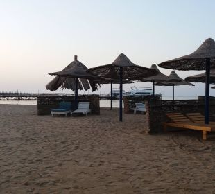 Ende des Hotelstrands Hotel Utopia Beach Club