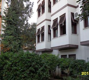 Gebäude, Zimmer von aussen Aspen Hotel