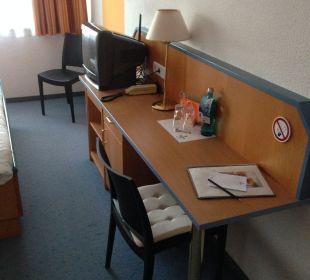 Zimmer rechter Teil Businesshotel Berlin