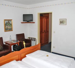 Flachbildschirm-TV Hotel Lipmann Am Klosterberg / Altes Zollhaus