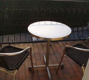 Balkon Altstadthotel und Residenz Wolf-Dietrich