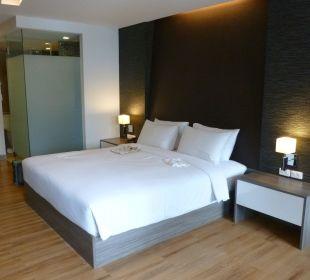 Schönes Zimmer Hotel Glow Trinity Silom