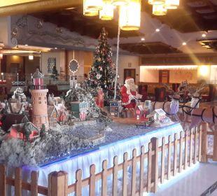 Weihnachtsdeko Hotel Royal Dragon