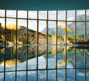 Swimmingpool! Hotel Goldener Berg