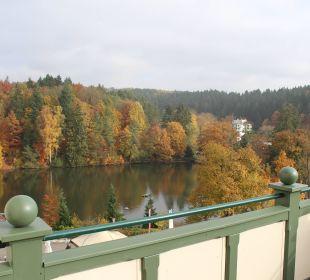 Terrassenausblick von Royalsuite Romantischer Winkel SPA & Wellness Resort