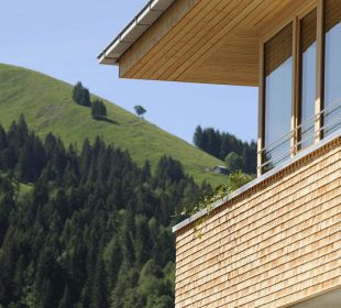 Adlerhorst mit Blick auf den Gelbhansekopf Hubertus Alpin Lodge & Spa