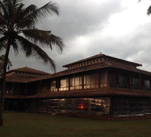 Blick aufs Restaurant Hotel Ranweli Holiday Village