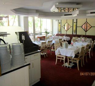Der Frühstücksraum Hotel Capricorno
