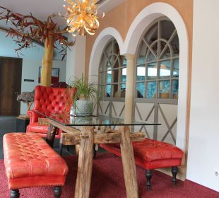 Der Eingangsbereich Leading Family Hotel & Resort Alpenrose