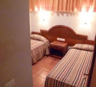 Zweites Schlafzimmer Hotel Dorotea