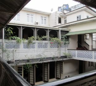 Innenhof Shalimar Hotel