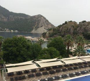 Ausblick vom Hotelzimmer Hotel Turunc