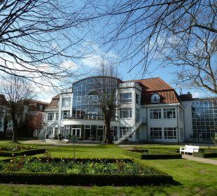 Hotel von hinten Seehotel Großherzog von Mecklenburg
