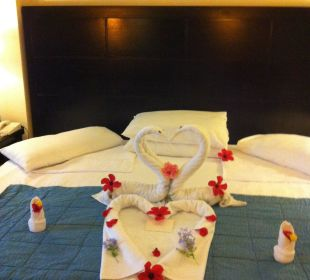 Jeden Tag was Neues sehr schön und fantasievoll su Hotel Reef Oasis Blue Bay