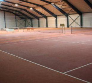 Tennishalle 4 Plätze Sporthotel Aktivpark Güssing
