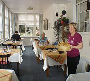 Veranda / Frühstücksbuffet Hotel-Pension Haus Angelika