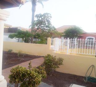 Vor dem Haus Brisas del Mar Villas