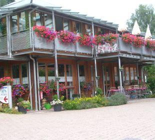 Restaurant und Rezeption Hotel Bayerischer Wald