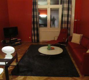 Living room Hotel Altstadt Vienna
