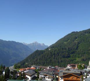 Ausblick von der Deluxe Suite Castel Hotel Castel