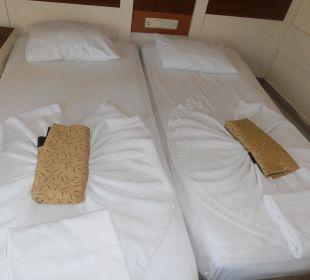 Pokoj, postele Hotel Krizantem